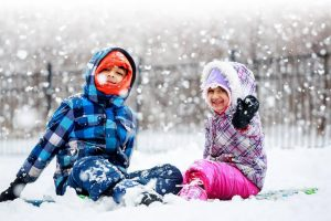 Children in Snowsuits