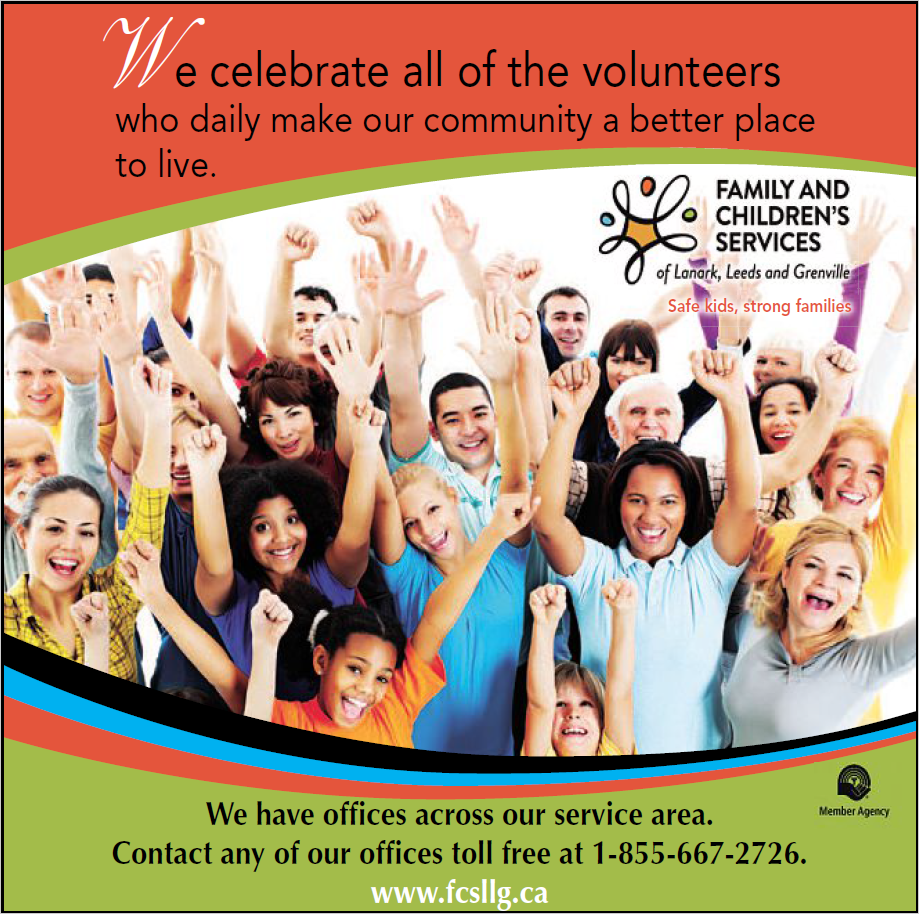 We celebrate all of the volunteers who daily make our community a better place to live.